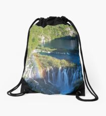 Plitvice Lakes Croatia Drawstring Bag
