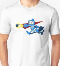 The Blue Bomber (man) Unisex T-Shirt