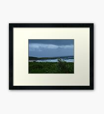 Summer Storm - Yamba, Mid North Coast  NSW Framed Print