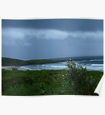 Summer Storm - Yamba, Mid North Coast  NSW Poster
