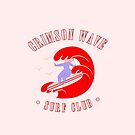 Crimson Wave Surf Club - The Peach Fuzz by Elizabeth Hudy