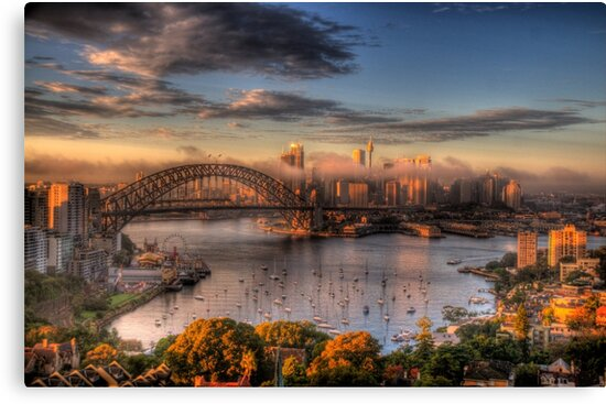 Anticipation - Moods Of A City - The HDR Experience by Philip Johnson