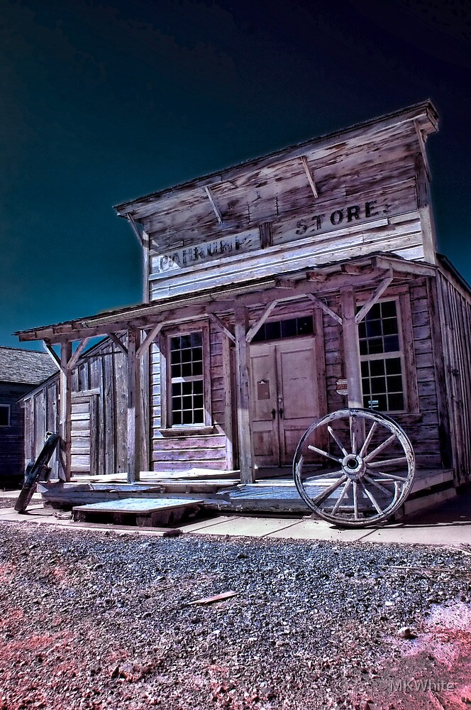 Pahrump General Store Color IR by MKWhite