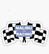 malibu racing sticker Sticker