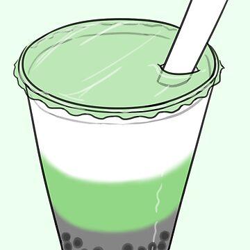 Neutrois Pride Bubble Milk Tea by JNNardacci
