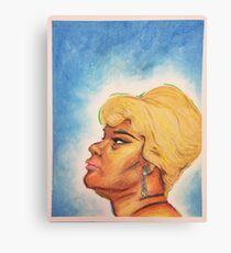 At Last! - Etta James 11in x 14in Canvas Print