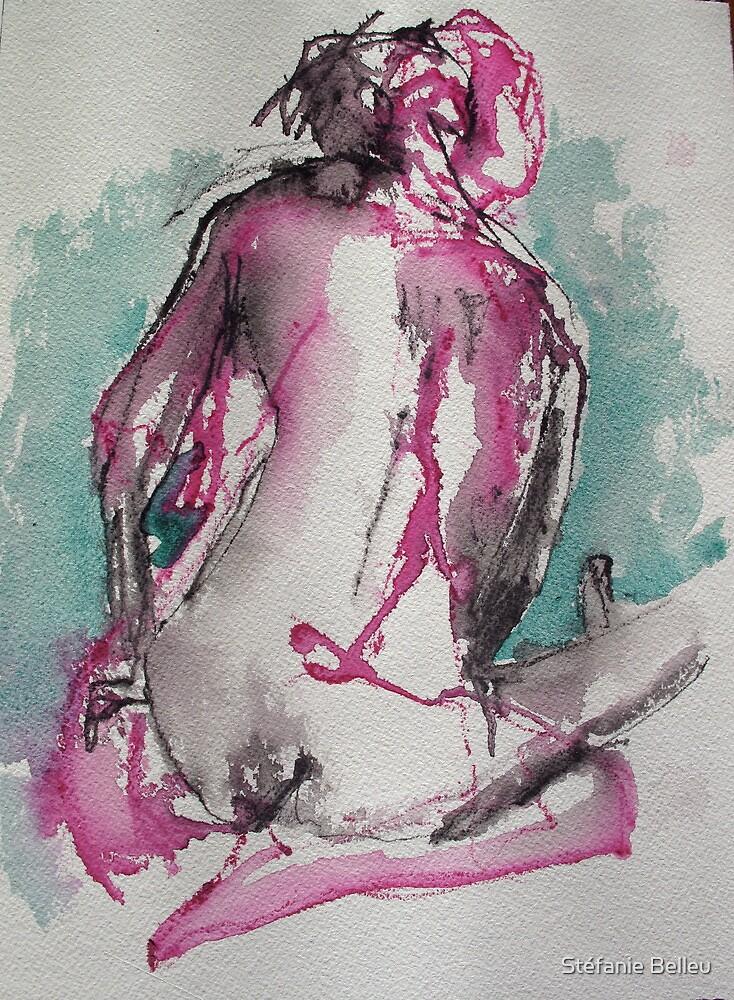 Danseuse de dos by Stéfanie Belleu