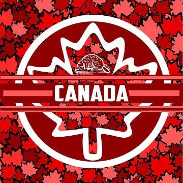 Canadian Maple Leaf - Vino di foglie by GR8DZINE