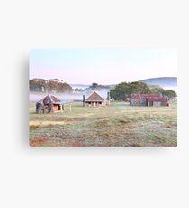 Coolamine Homestead Dawn, Kosciusko National Park, Australia Metal Print