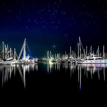 Midnight Stillness by jongasphoto