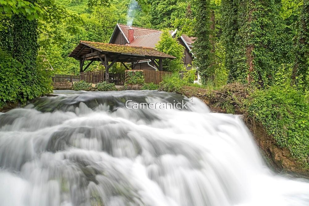 Rastoke Village and Waterfall by Nick Jenkins