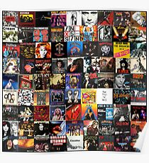 Rock Collage Collection Poster