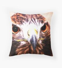 Andi- The Golden Eagle Throw Pillow