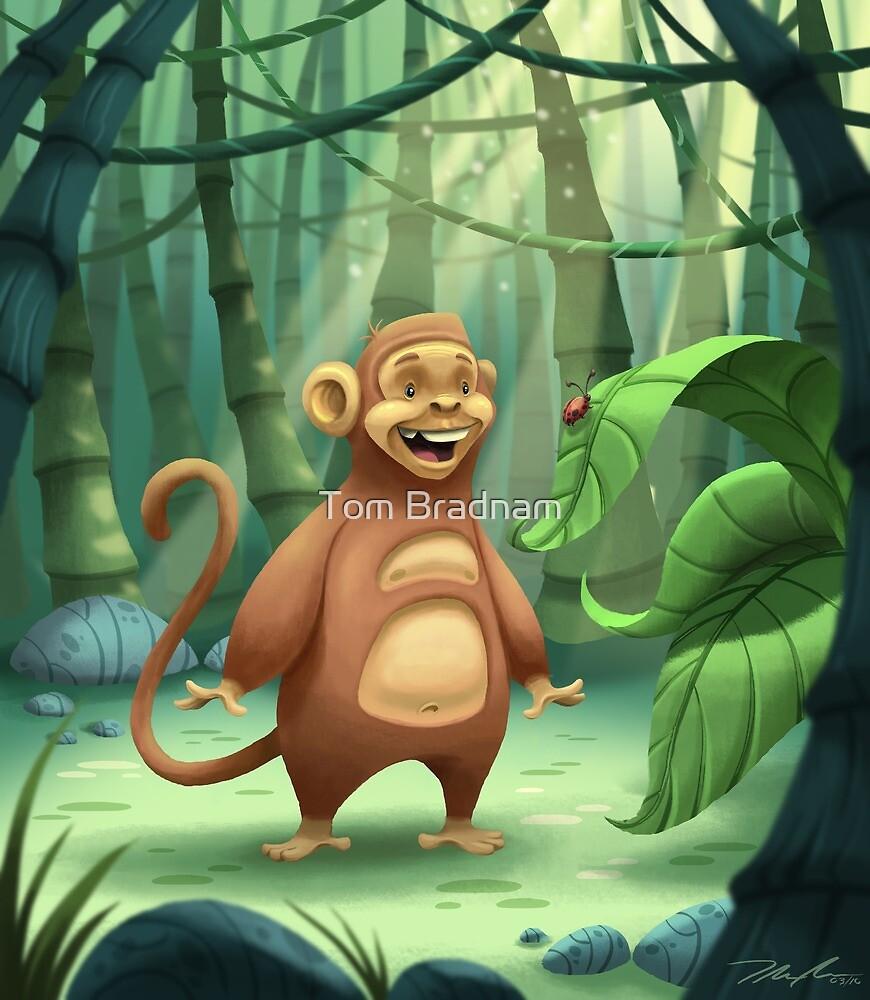 """""""Mogie"""" The Monkey by Tom Bradnam"""