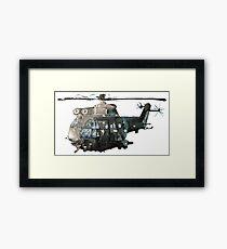 Gunship Indian Air Force Framed Print