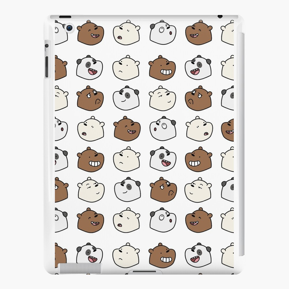 We Bare Bears iPad Cases & Skins