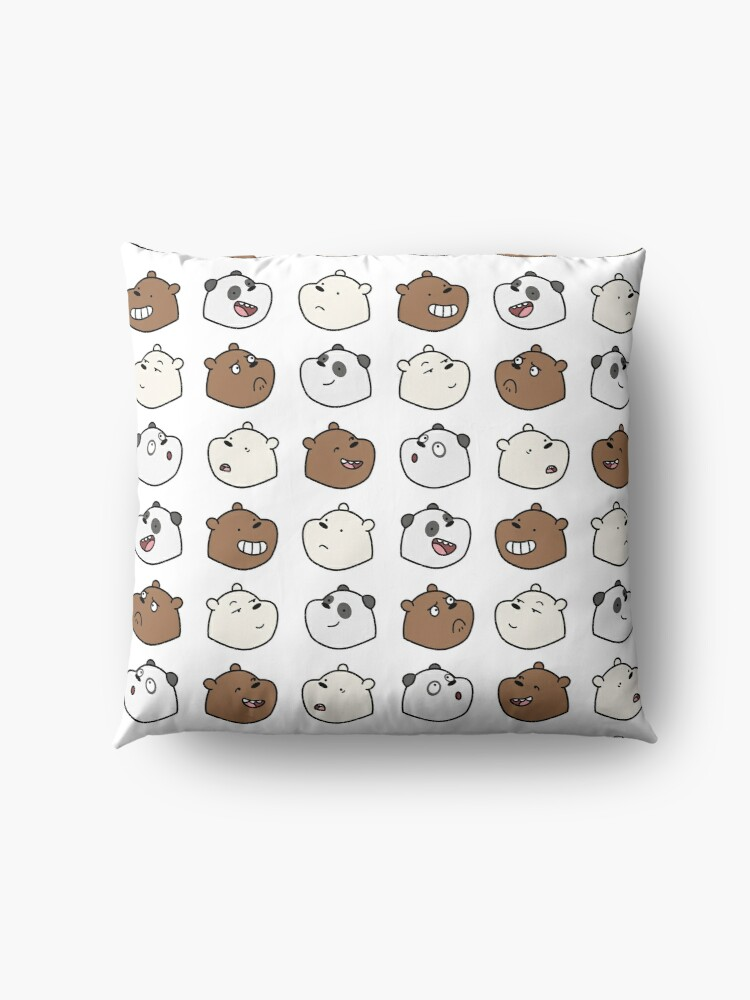 Alternate view of We Bare Bears Floor Pillow