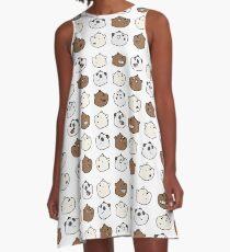 We Bare Bears A-Line Dress