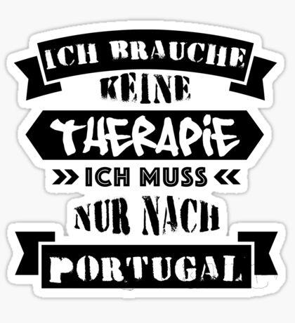 Portugal - Therapie Sticker