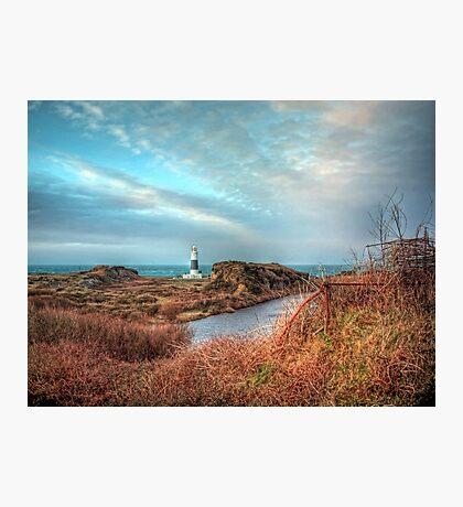 Alderney's lighthouse Photographic Print