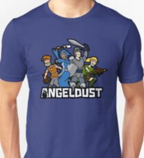 Angeldust Logo—Transparent Unisex T-Shirt