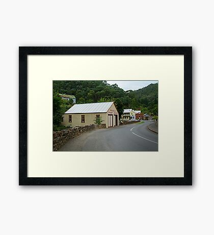 Walhalla,Valley Township Framed Print
