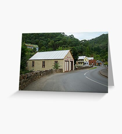 Walhalla,Valley Township Greeting Card