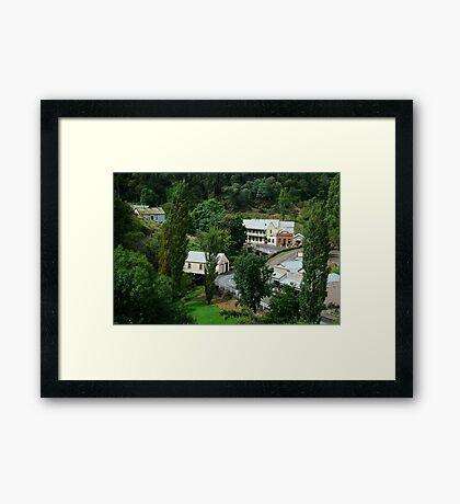 Walhalla, a Gold Village Framed Print
