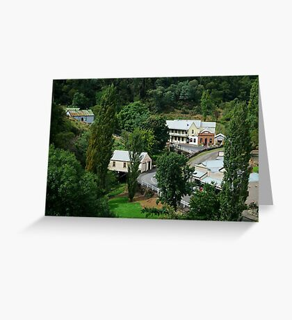Walhalla, a Gold Village Greeting Card