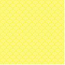 Yellow Concentric Circle Pattern  by Cool Fun  Awesome Time