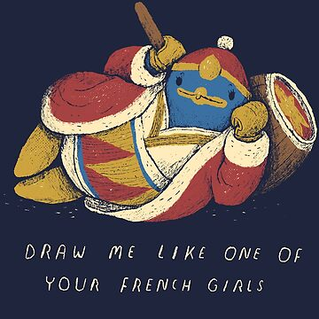 draw me like one of your french penguins by louros