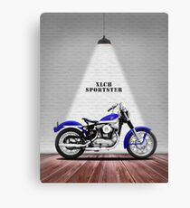 Das Vintage Sportster Motorrad Leinwanddruck