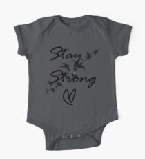 stay strong One Piece - Short Sleeve