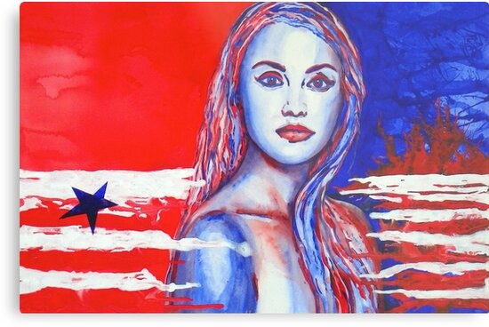 Liberty American Girl by BAR-ART