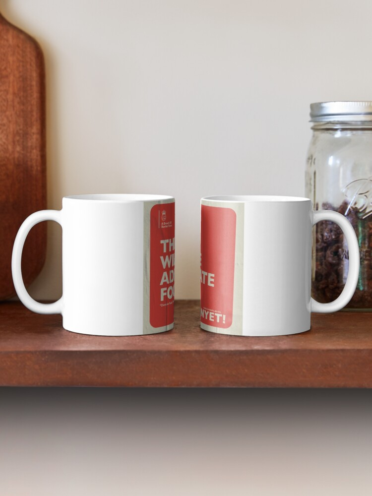 Alternate view of Adequate Food Mug Mug
