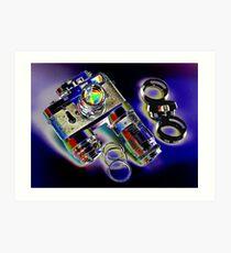 Leica M 2 Camera Set thula-art Art Print