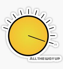 All the way up Sticker