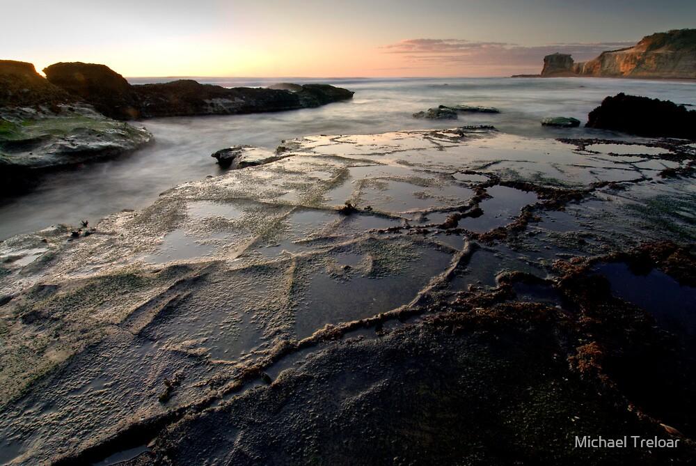 Low Tide, Maori Bay by Michael Treloar