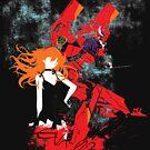 Evangelion Unit-02 by TeeTeeProject