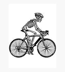bike riding Photographic Print