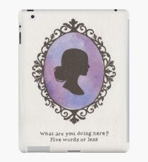 Buffy Cameo iPad Case/Skin