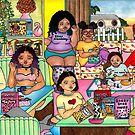 « Tueurs de céréales » par Laura Hutton