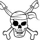 Pirate skull by Logan81