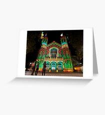 Northern Lights Display, North Terrace Greeting Card