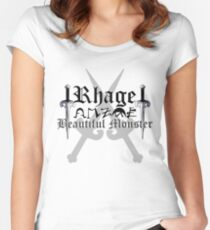 Rhage - [ the Black Dagger Brotherhood ] Women's Fitted Scoop T-Shirt
