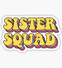Pegatina escuadrón hermana