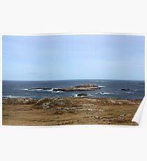 Atlantic Coast - Donegal Poster