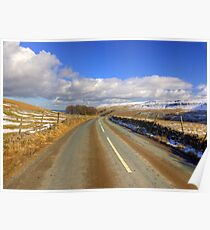 The View from the Kettlewell Road. Poster
