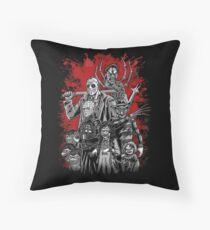 Horror League ver.2 Throw Pillow