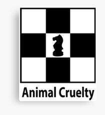 Animal cruelty Canvas Print